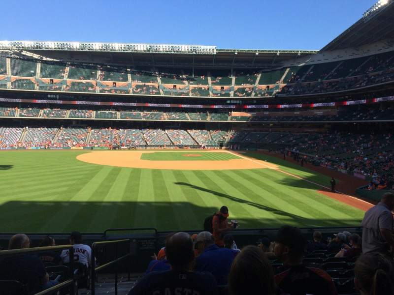 Seating view for Minute Maid Park Section 102 Row 10 Seat 1