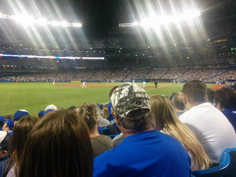 Seating view for Rogers Centre Section 130 Row 9 Seat 6