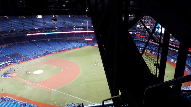 Seating view for Rogers Centre Section 213L Row 29 Seat 101