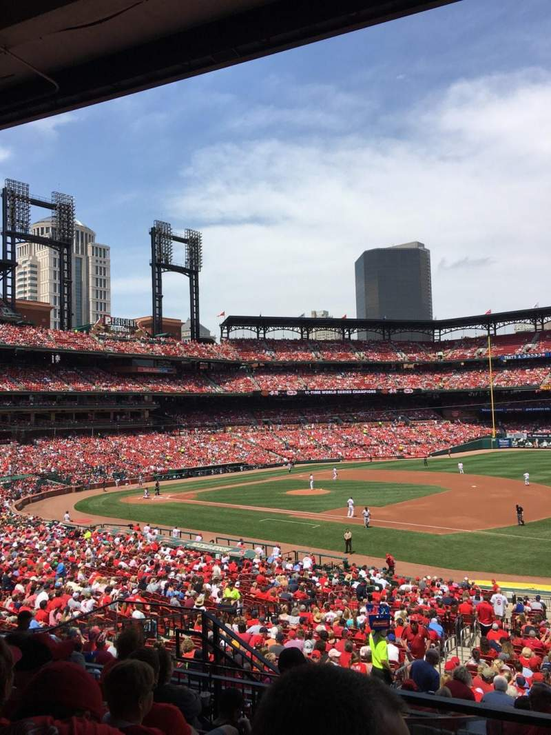 Seating view for Busch Stadium Section 129 Row 25 Seat 7