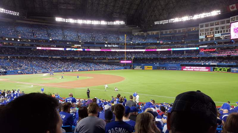 Seating view for Rogers Centre Section 113AR Row 32 Seat 12
