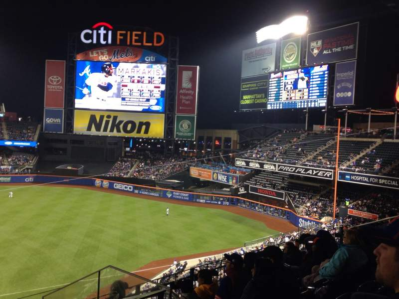 Seating view for Citi Field Section 311 Row 6 Seat 6