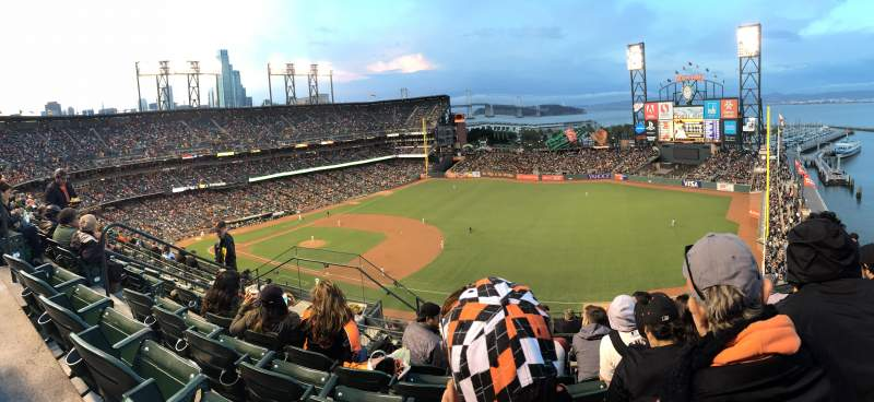 Seating view for AT&T Park Section 302 Row 5 Seat 7