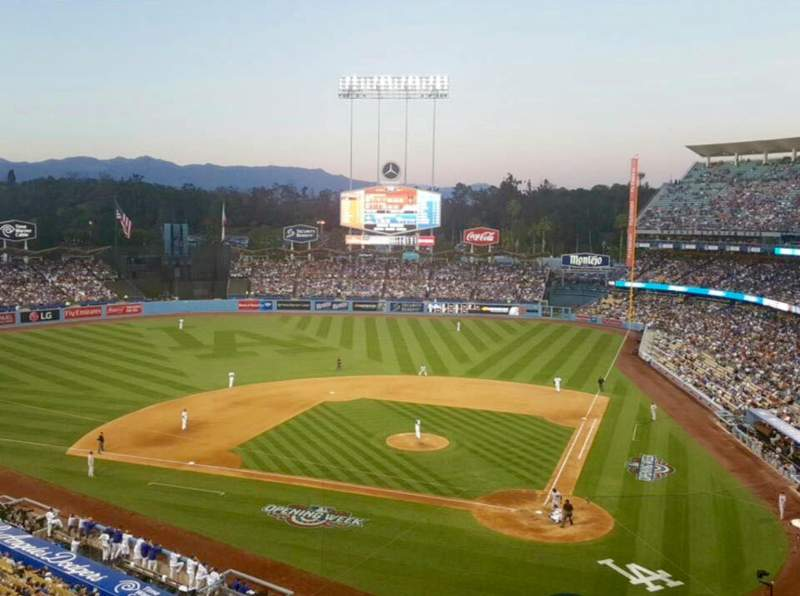 Seating view for Dodger Stadium Section 7RS Row B Seat 11