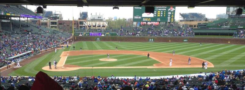 Seating view for Wrigley Field Section 226 Row 19 Seat 9