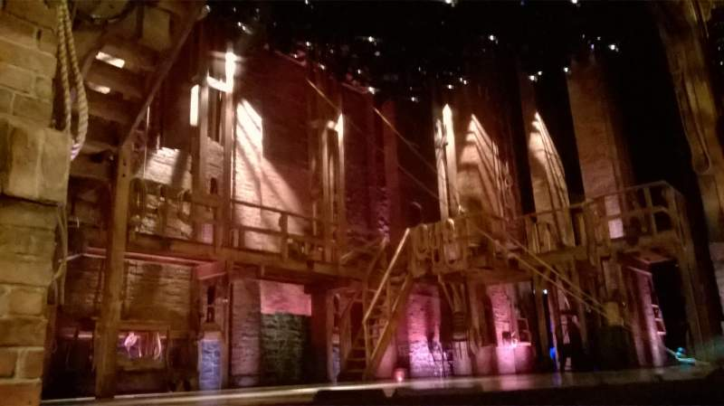 Seating view for Richard Rodgers Theatre Section Orch Row B Seat 13
