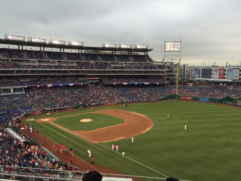 Seating view for Nationals Park Section 226 Row G Seat 7
