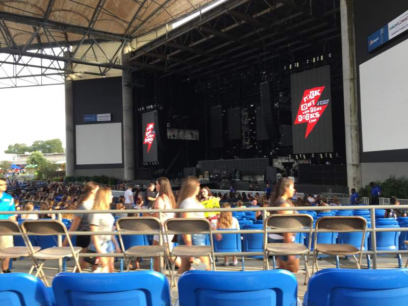 Seating view for MidFlorida Credit Union Amphitheatre