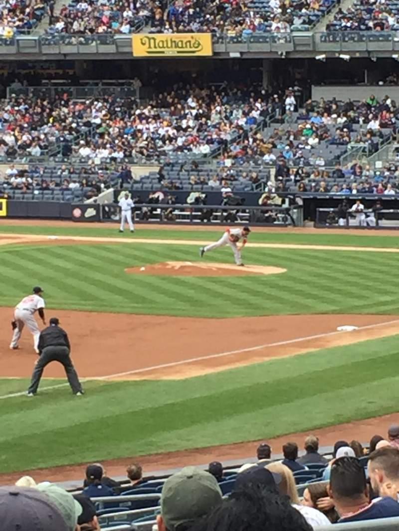 Yankee Stadium, section: 129, row: 24, seat: 10