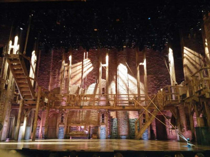 Seating view for Richard Rodgers Theatre Section Orchestra Row F Seat 106