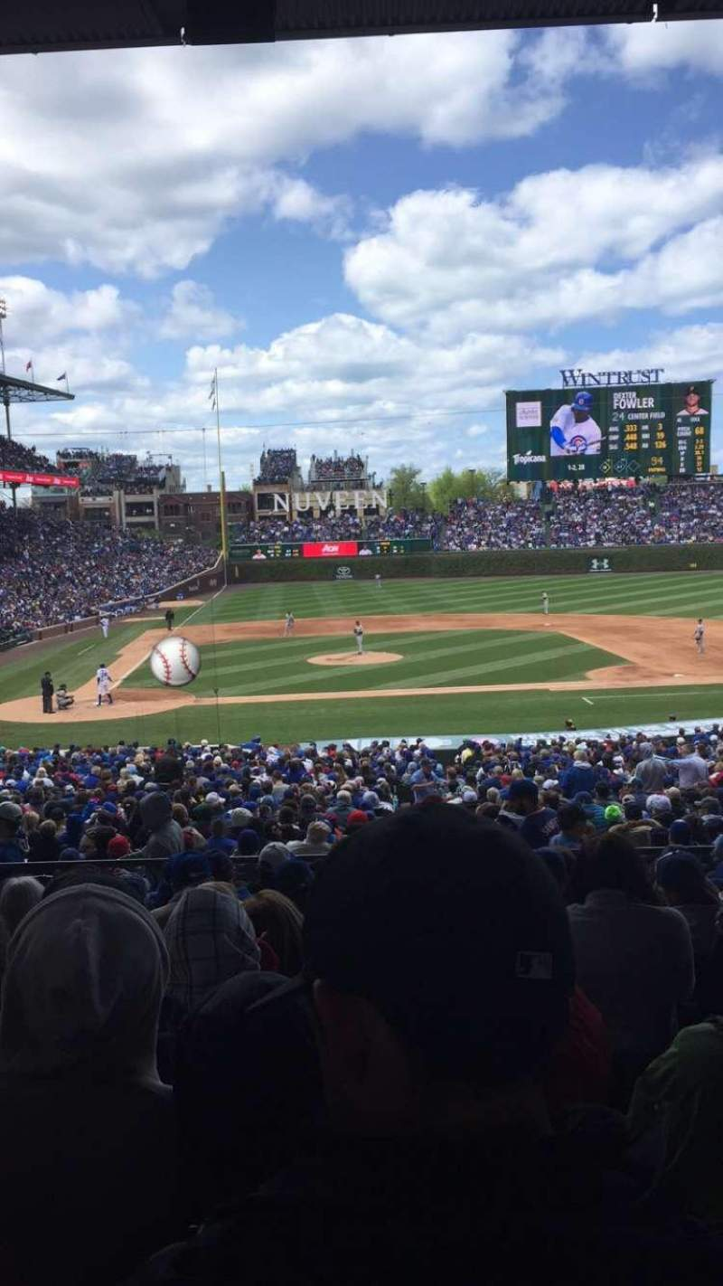 Seating view for Wrigley Field Section 228 Row 9 Seat 113