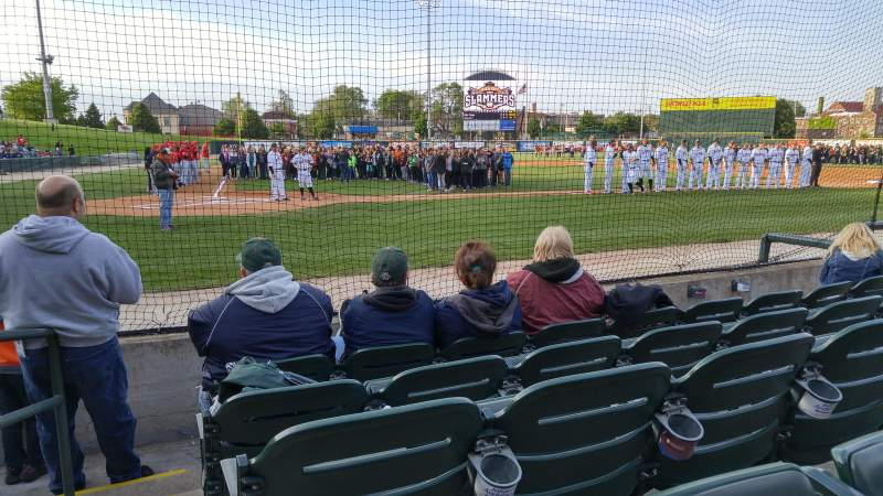 Seating view for Joliet Route 66 Stadium Section 107 Row E Seat 10