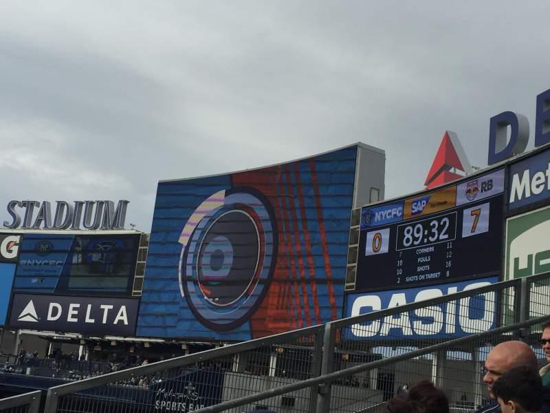 Yankee Stadium, section: 205, row: 3, seat: 7