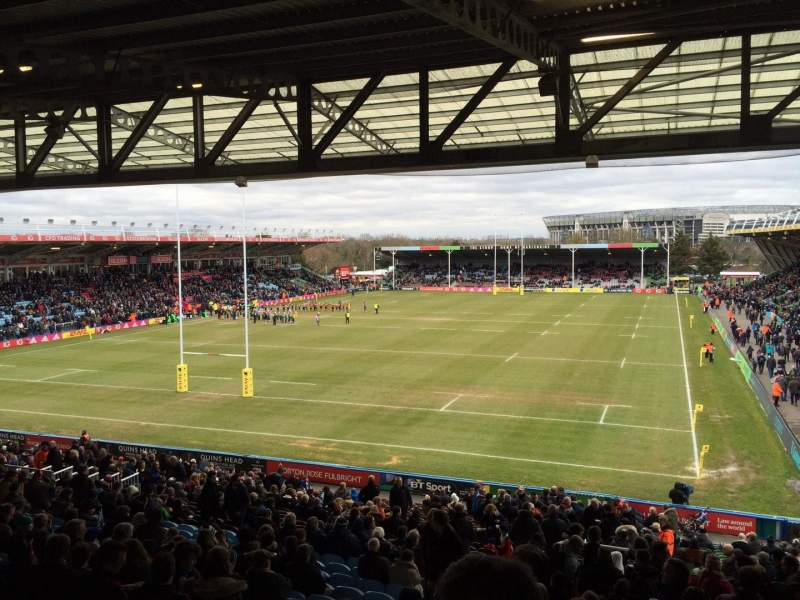 Seating view for The Stoop Section BA Row AM Seat 10