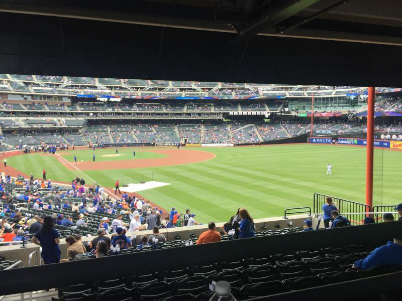 Seating view for Citi Field Section 104 Row 37-WC Seat 1