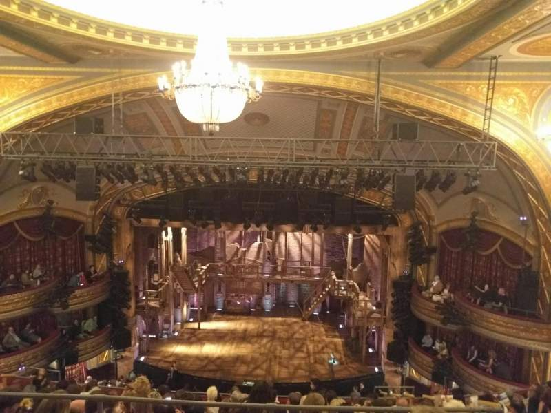 Seating view for Richard Rodgers Theatre Section RMEZZ Row C Seat 104