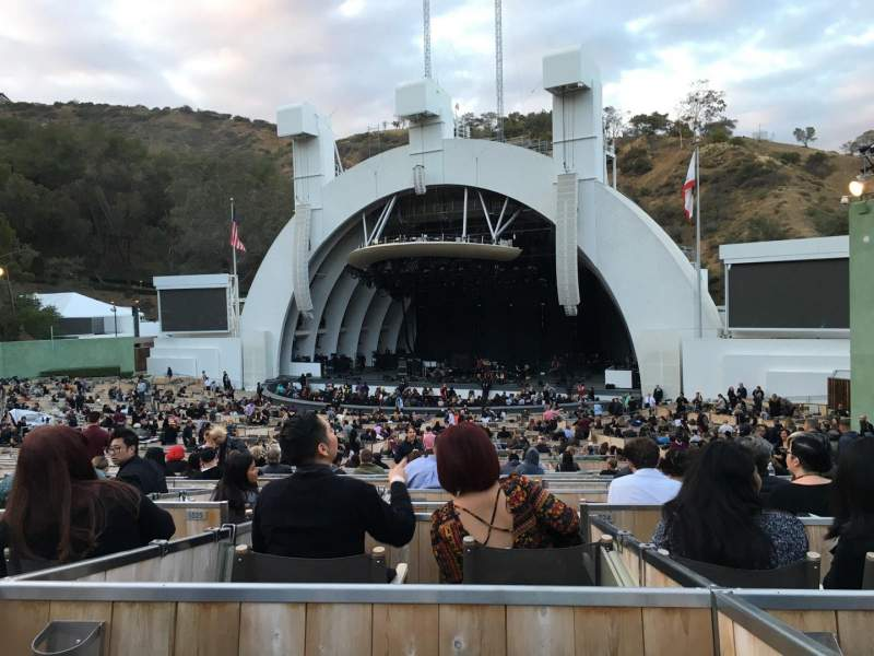 Seating view for Hollywood Bowl Section Terrace 2