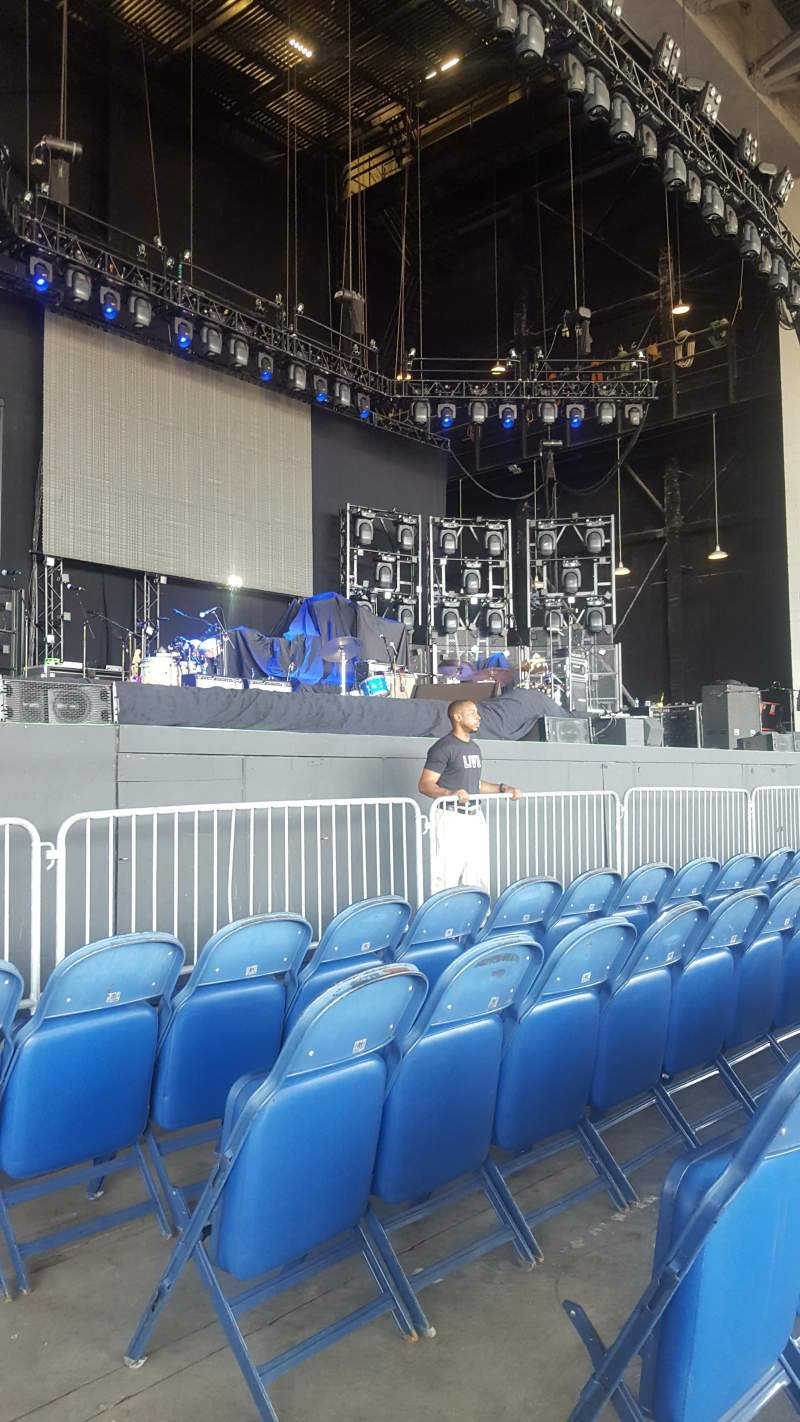 Seating view for PNC Music Pavilion Section 3 Row D Seat 2