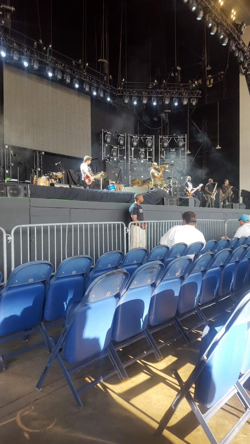 Seating view for PNC Music Pavilion Section 3 Row D Seat 3