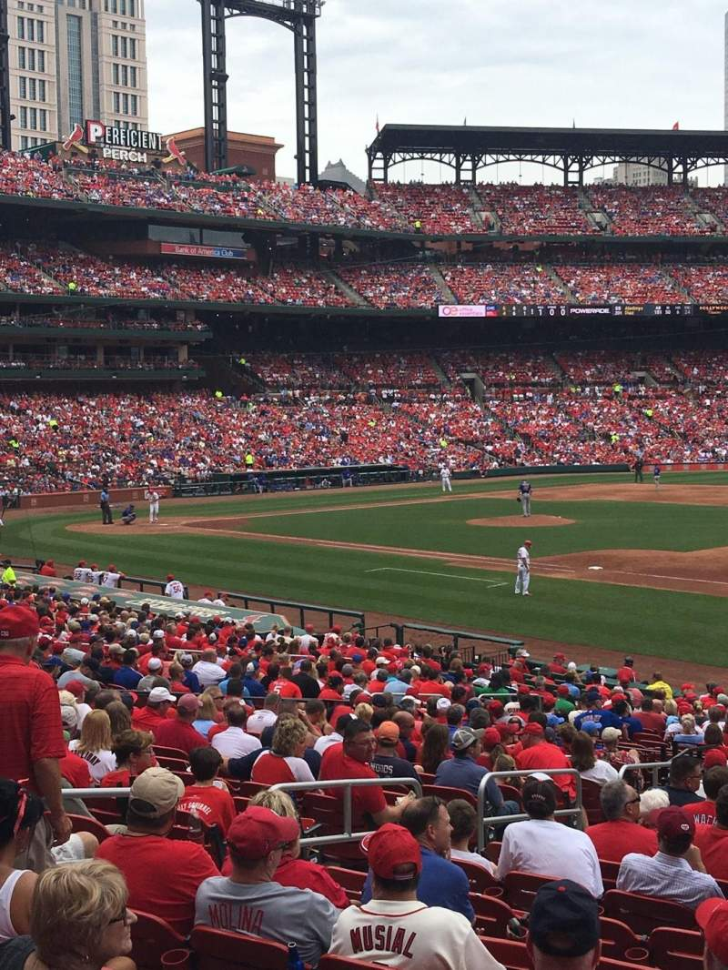 Seating view for Busch Stadium Section 139 Row WC Seat 5