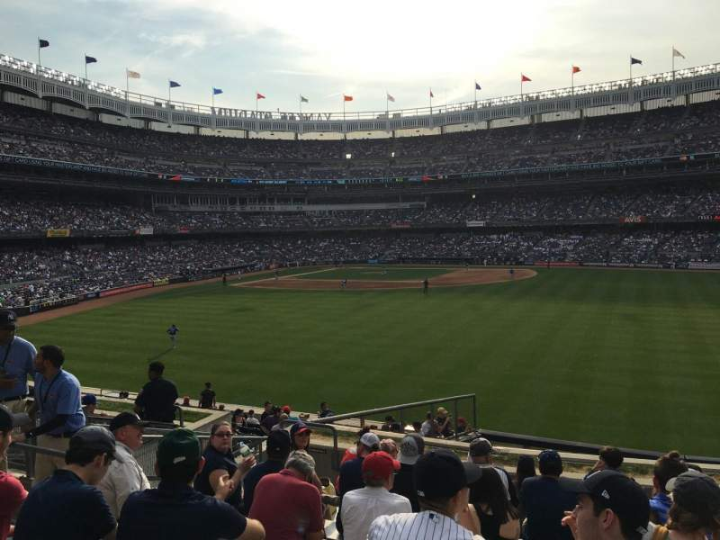 Seating view for Yankee Stadium Section 202 Row 10 Seat 23