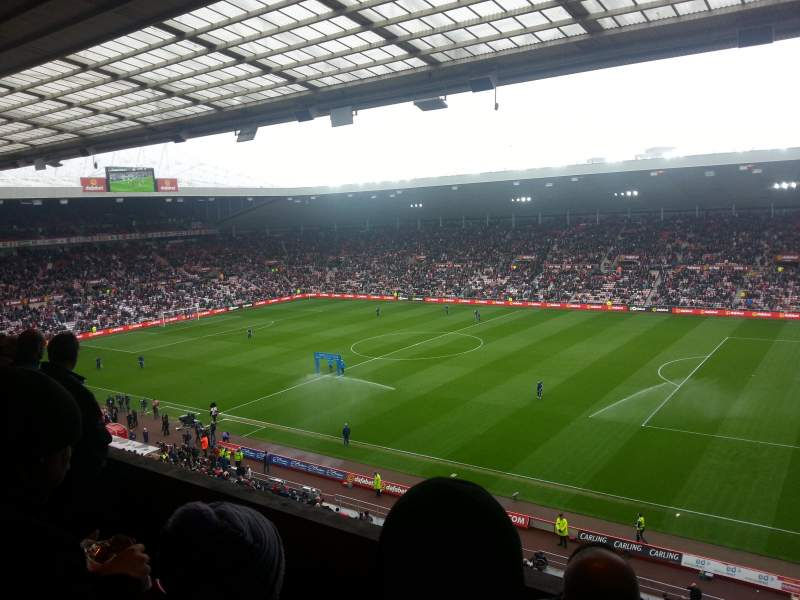 Seating view for stadium of light Section p8 Row 4 Seat 17