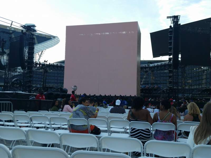 Seating view for Soldier Field Section B2 Row 4 Seat 19