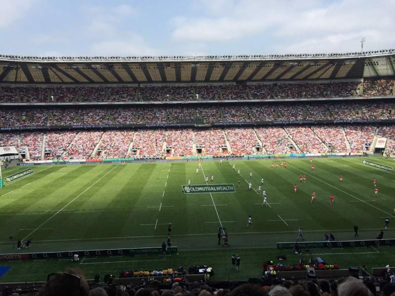 Seating view for Twickenham Stadium Section M7 Row 63 Seat 188