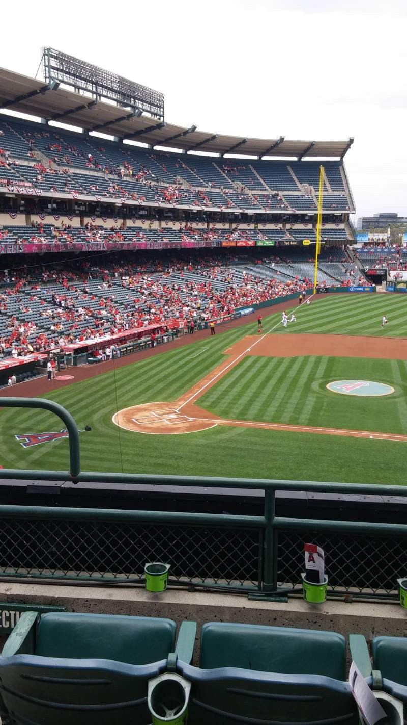Seating view for Angel Stadium Section 333 Row C Seat 2