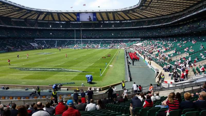 Seating view for Twickenham Stadium Section L32 Row 27 Seat 78