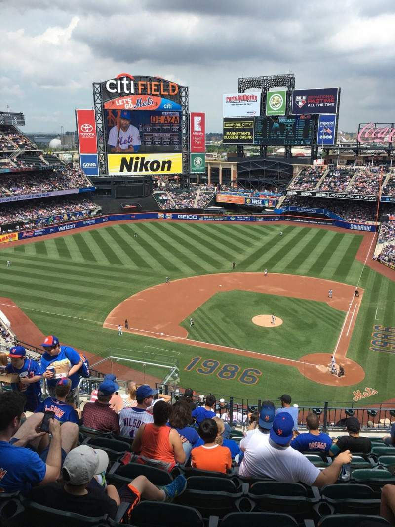 Seating view for Citi Field Section 518 Row 10 Seat 14
