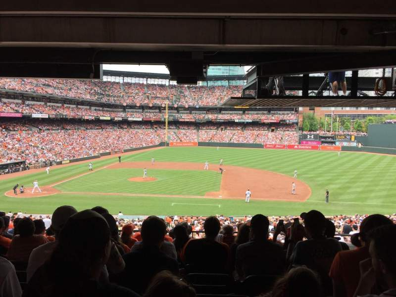 Seating view for Oriole Park at Camden Yards Section 19 Row 10 Seat 11