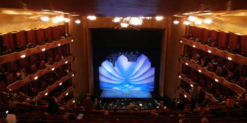 Seating view for Metropolitan Opera House - Lincoln Center Section Family Circle Row K Seat 109