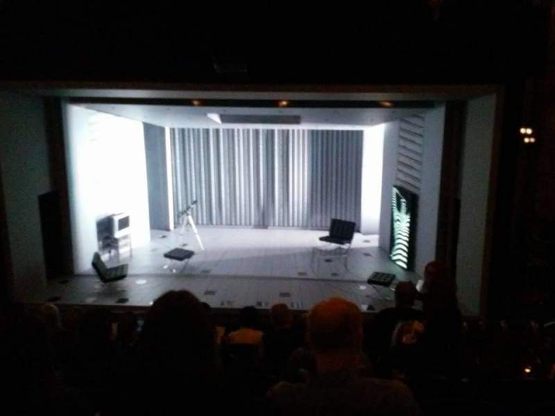 Seating view for Gerald Schoenfeld Theatre Section Center Mezzanine Row K Seat 110