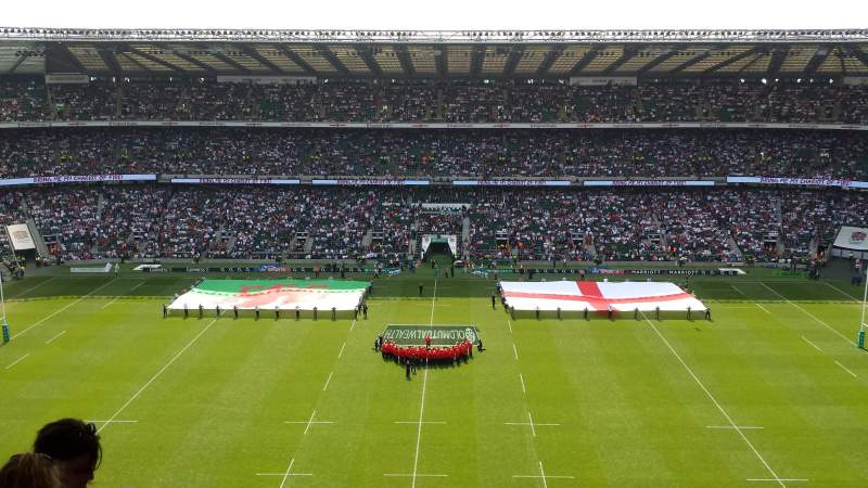 Seating view for Twickenham Stadium Section U33 Row M Seat 239