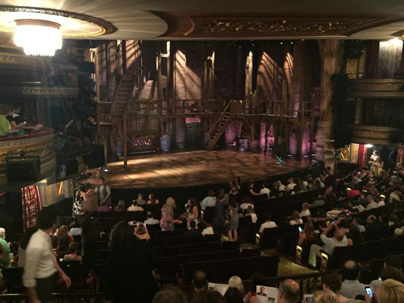 Seating view for Richard Rodgers Theatre Section Orch Row R Seat 19