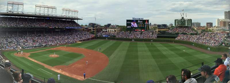 Wrigley Field, section: 433, row: 4, seat: 106
