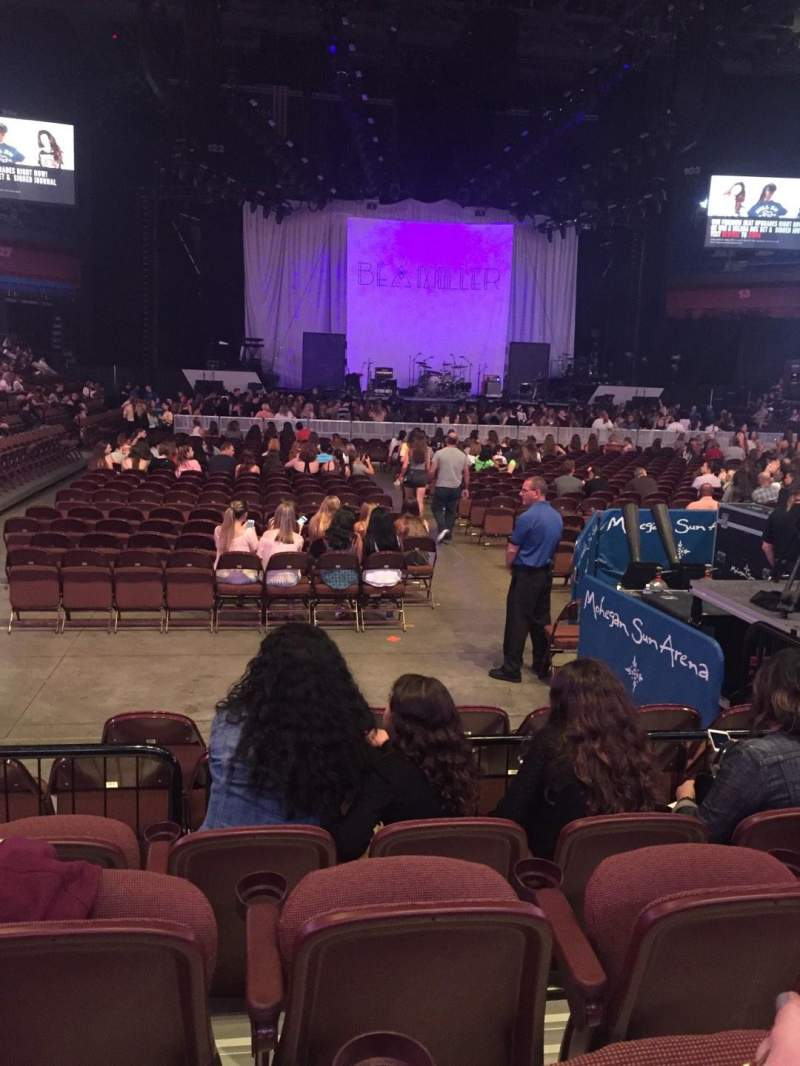 Mohegan Sun Arena, section 21, row F, seat 6 - Bea Miller tour: Revival Tour, Shared Anonymously