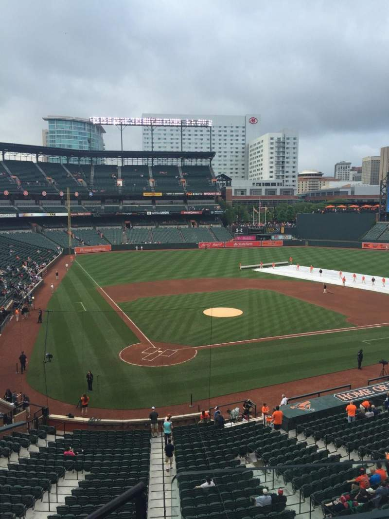 Seating view for Oriole Park at Camden Yards Section 230 Row 4 Seat 11