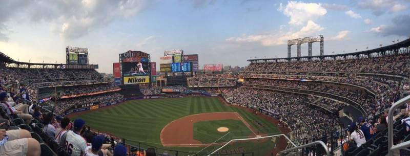 Seating view for Citi Field Section 521 Row 4 Seat 2