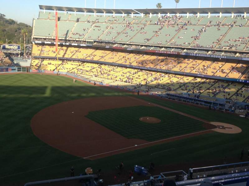Seating view for Dodger Stadium Section 31RS Row F Seat 5