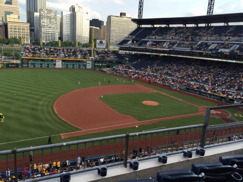 Seating view for PNC Park Section 227 Row 3 Seat 6