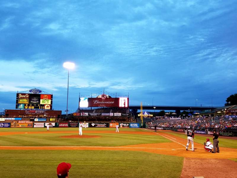 Seating view for Louisville Slugger Field
