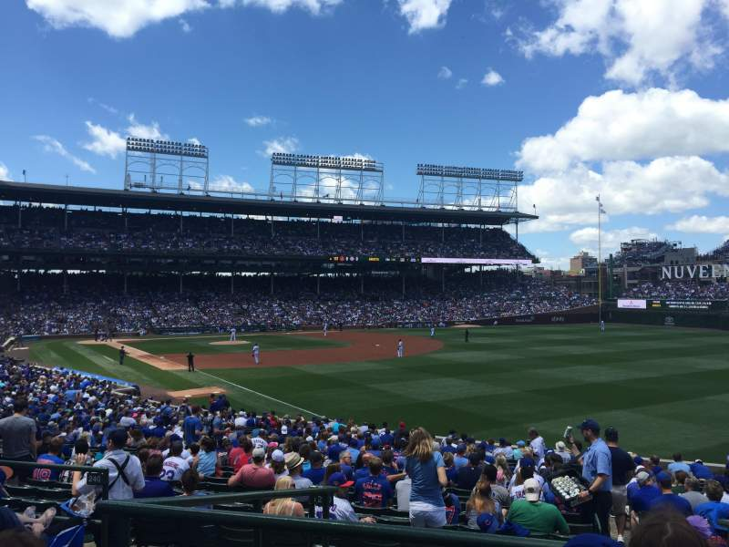 Seating view for Wrigley Field Section 240 Row 6 Seat 5