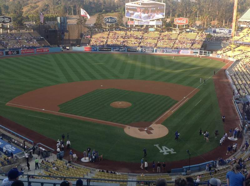 Seating view for Dodger Stadium Section 5RS Row M Seat 12