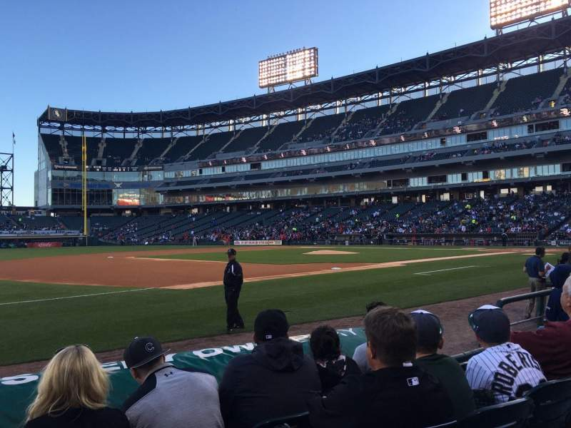Seating view for U.S. Cellular Field Section 144 Row 5 Seat 6