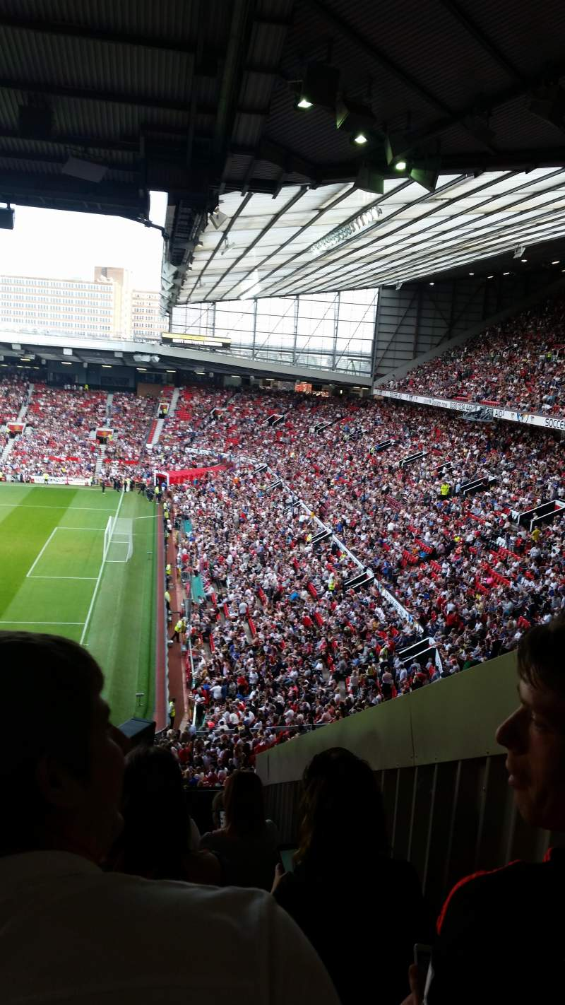 Seating view for Old Trafford