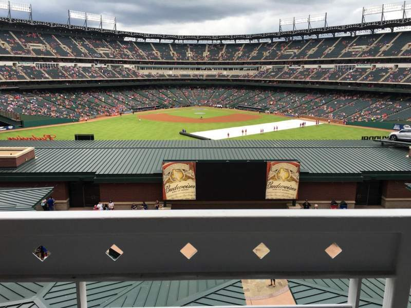 Seating view for Globe Life Park in Arlington Section Middle Office Suites