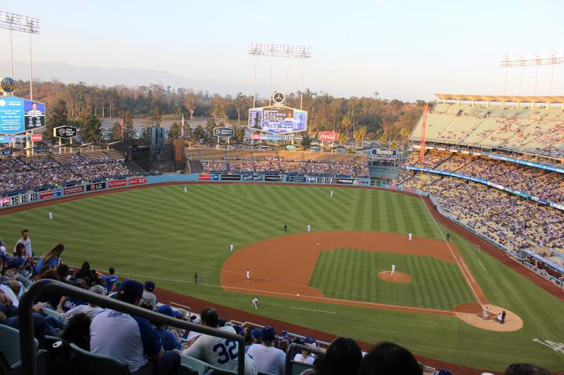 Seating view for Dodger Stadium Section 11RS Row U Seat 20