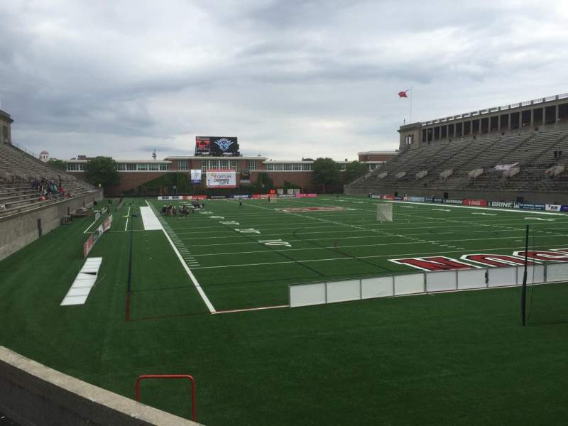 Seating view for Harvard Stadium Section 23 Row P Seat 4